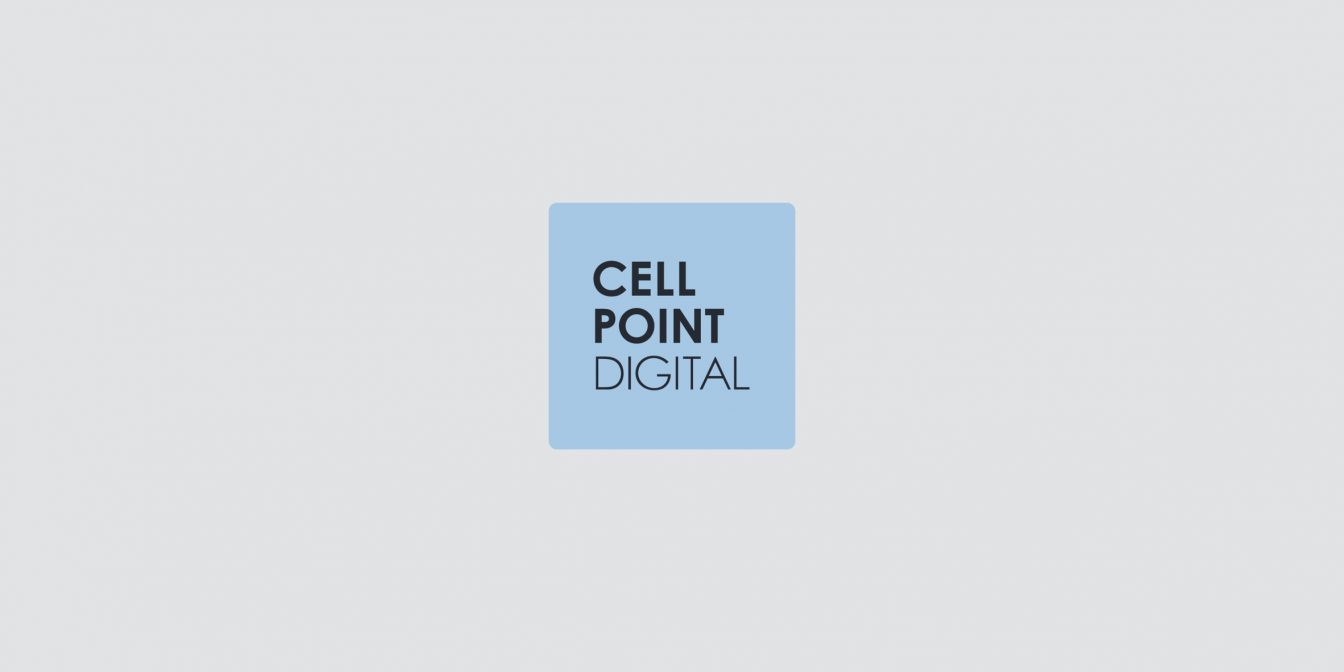 News Cell Point Digital Blue