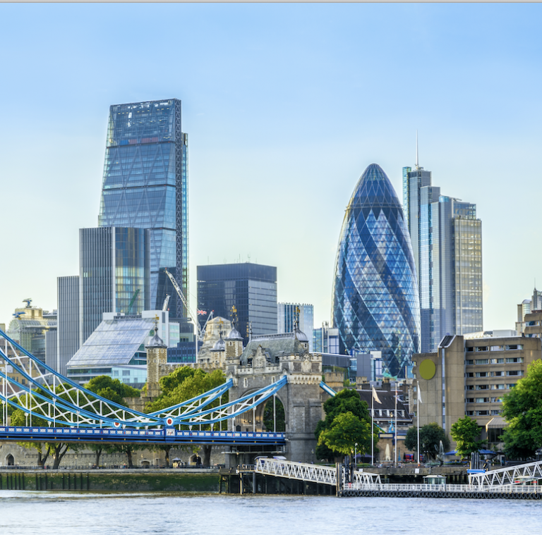 London City where Penta Capital is located