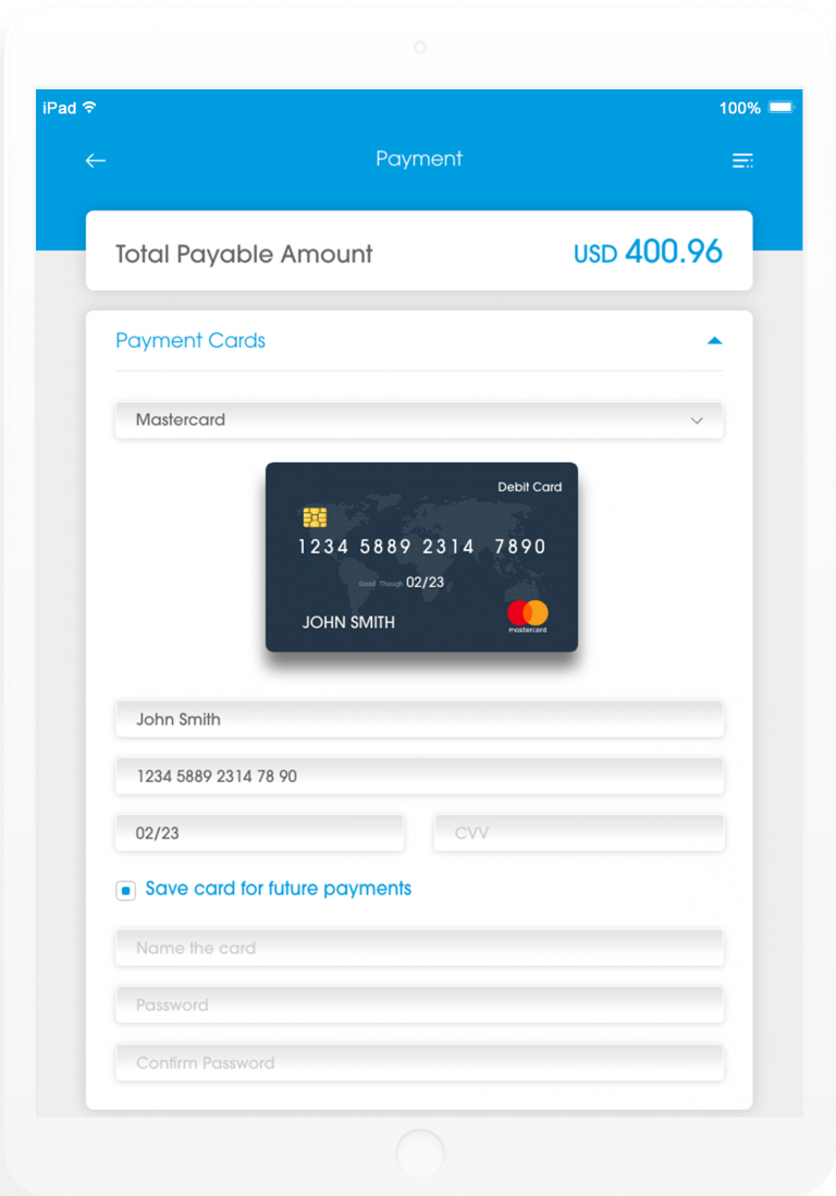 Velocity Processing any global or local card scheme, debit or credit