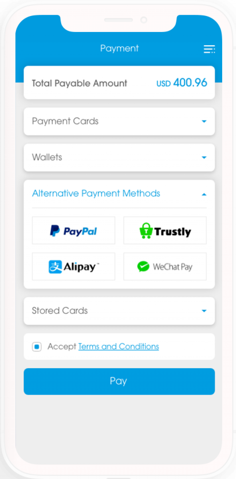 Voyage 3 4 Alternative Payment Hub 90